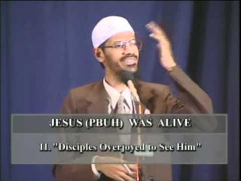 Zakir Naik – Was Jesus Really Crucified?