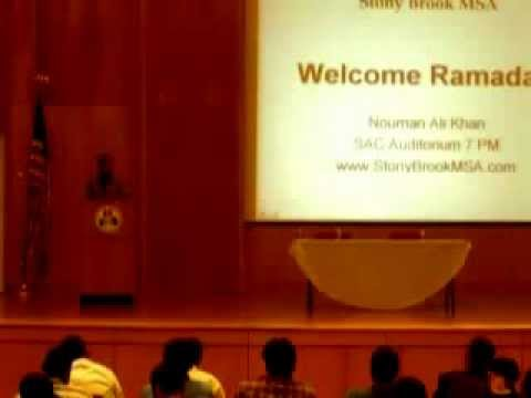 Nouman Ali Khan – Welcome Ramadan