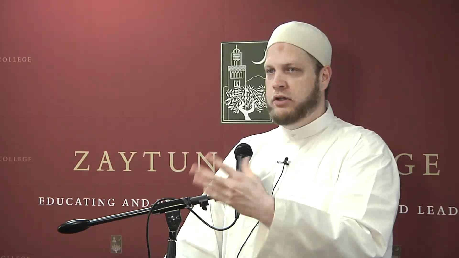 Suhaib Webb – Fasting, Materialism and Time Management: Ramadan Advice