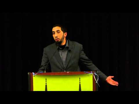 Nouman Ali Khan – The Quran's Remedy for Sadness