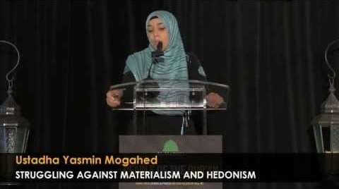 Yasmin Mogahed – Struggling Against Materialism