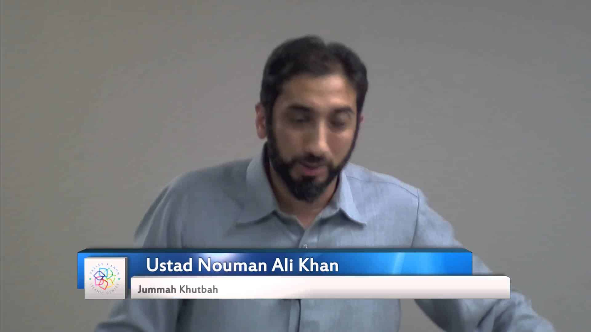 Nouman Ali Khan – Trust and Justice