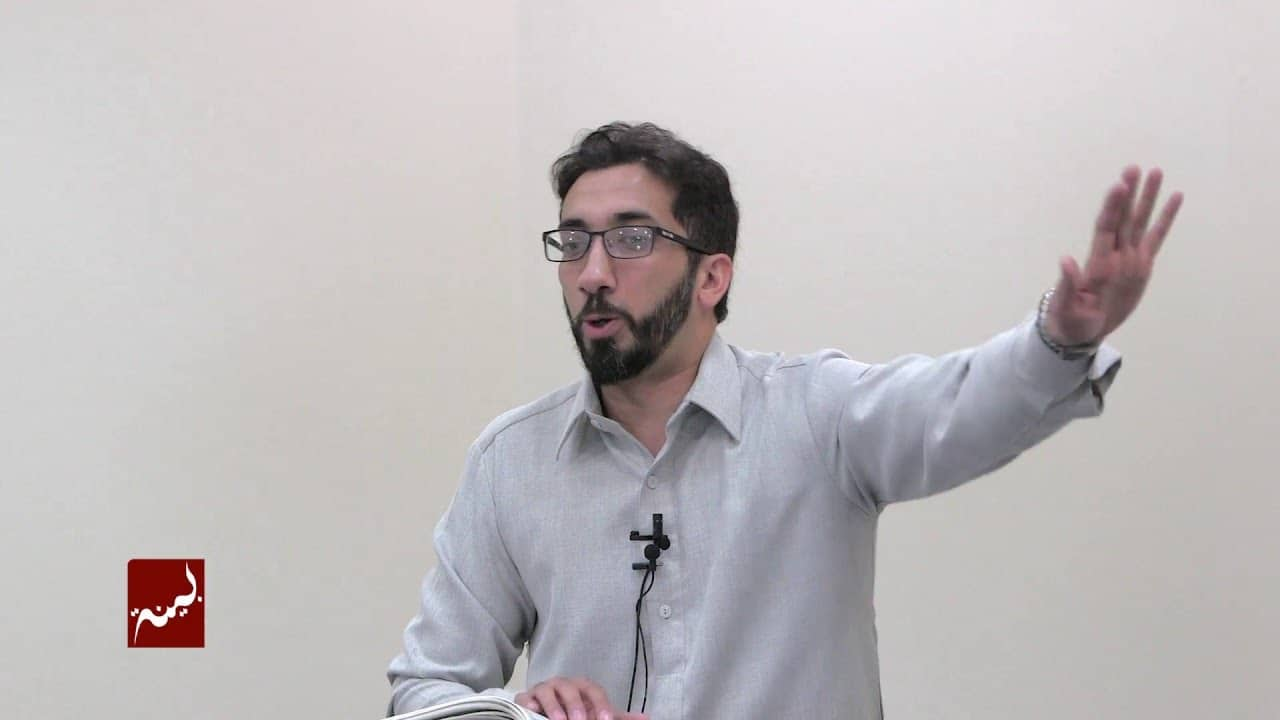 Nouman Ali Khan – Giving a Good Word