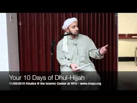 Khalid Latif – Your 10 Days of Dhul-Hijjah