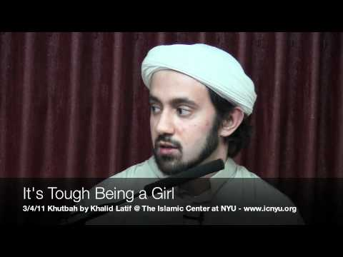 Khalid Latif – It's Tough Being A Girl
