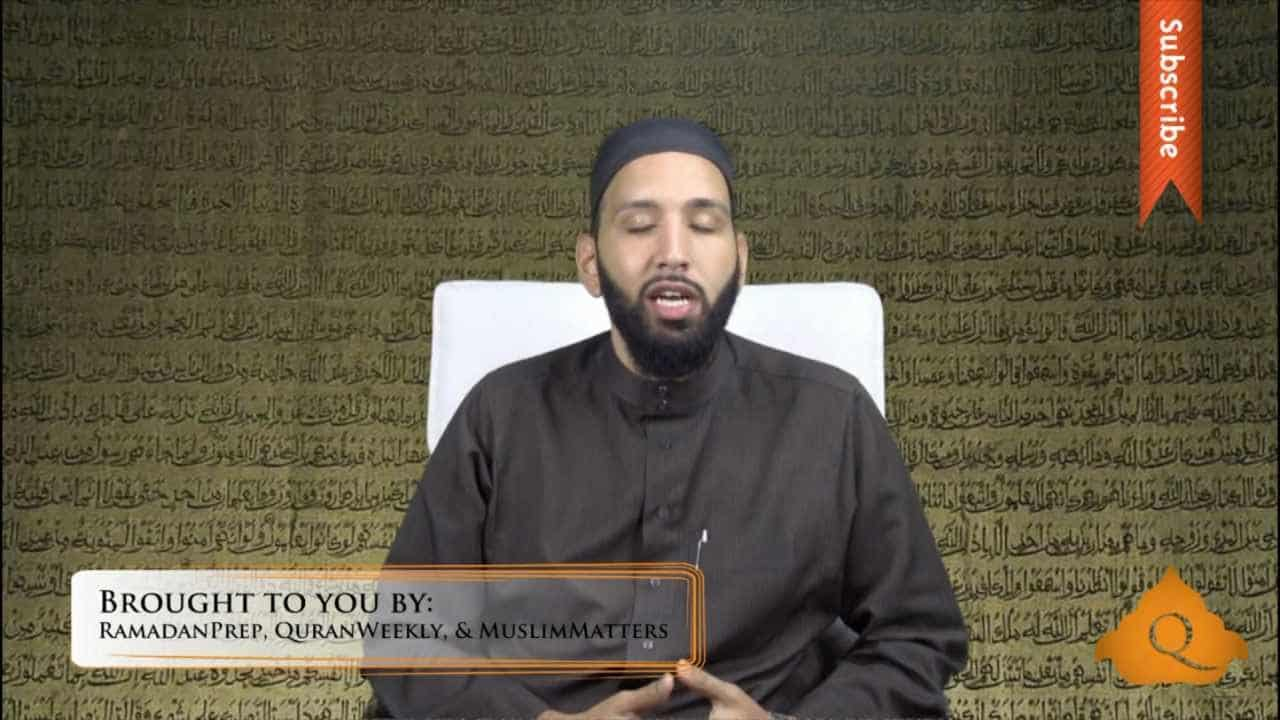 Omar Suleiman – Purification of the Soul in Ramadan