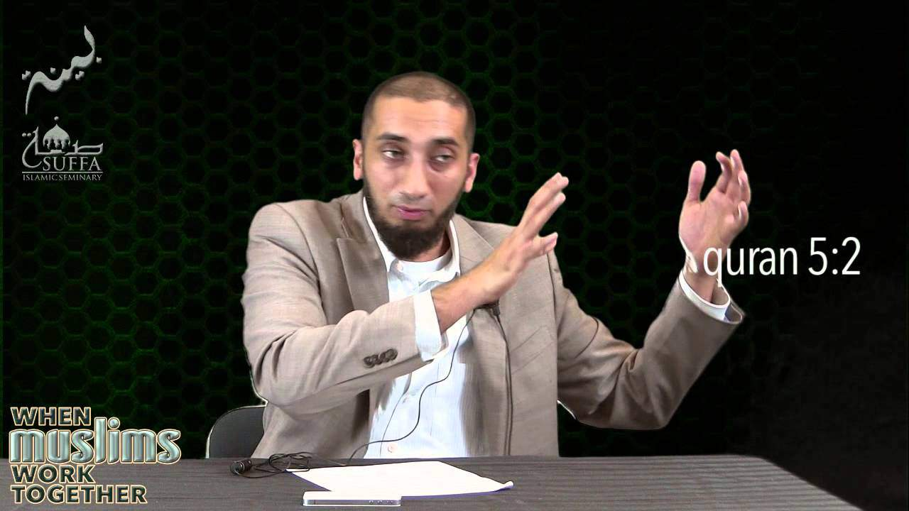 Nouman Ali Khan – When Muslims Work Together