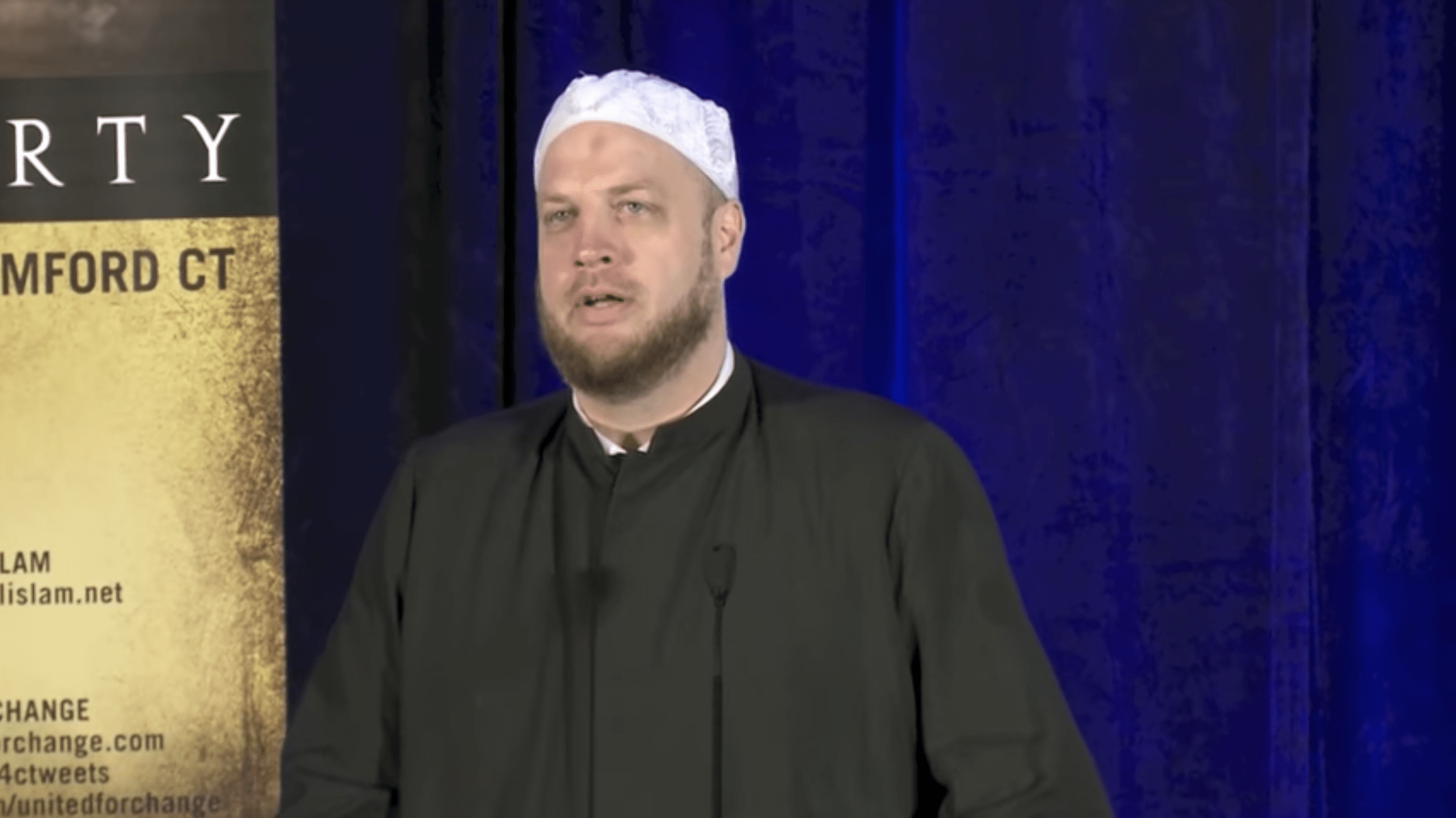 Suhaib Webb – Poverty in Religion