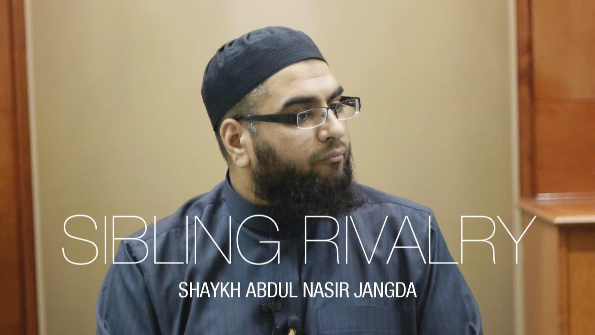 Abdul Nasir Jangda – Sibling Rivalry