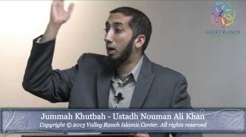 Nouman Ali Khan – Lessons from Surah Jinn