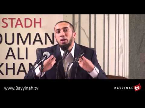 Nouman Ali Khan – The Nature of Friendship in Light of the Quran