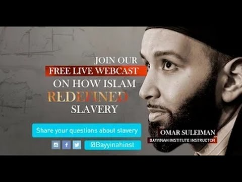 Omar Suleiman – Slavery : A Past and Present Tragedy
