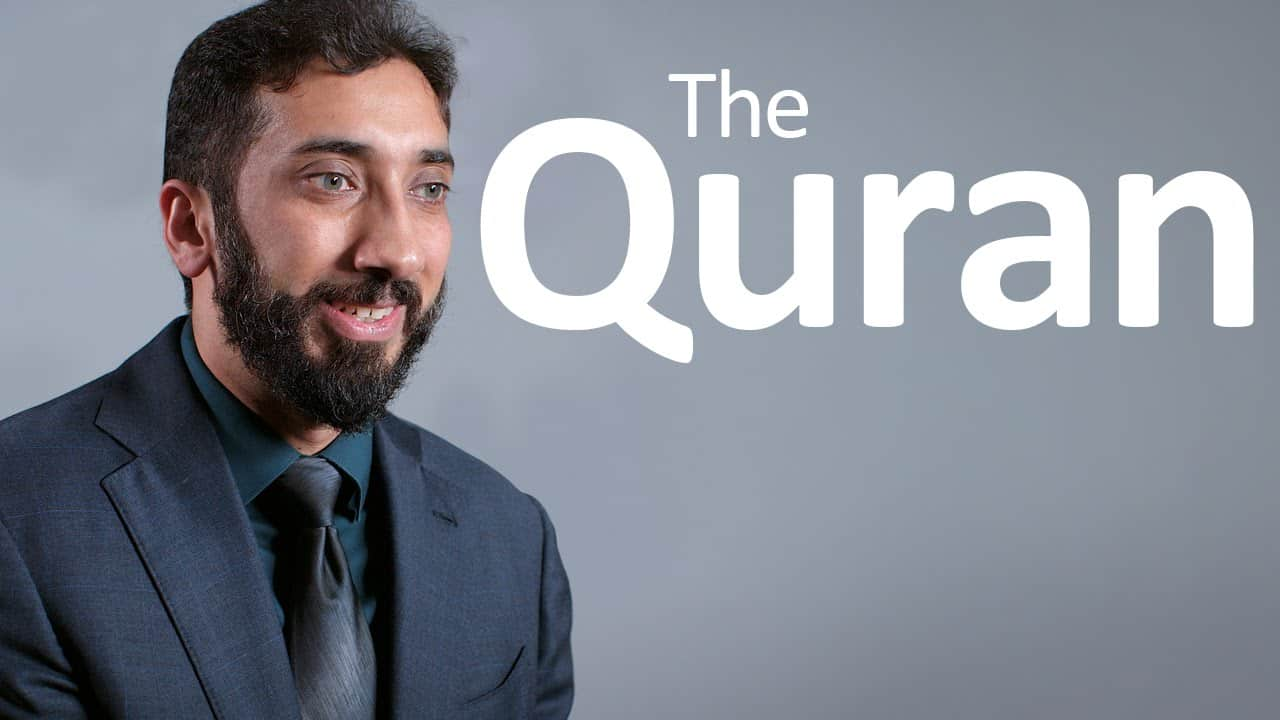 Nouman Ali Khan – The Quran, A Miracle and Guidance