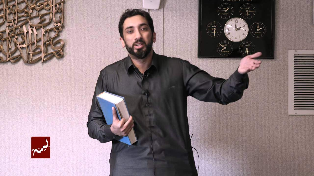 Nouman Ali Khan – Guidance from Surah Hashr