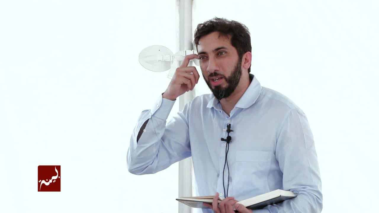Nouman Ali Khan – How Shaytan Will Rope You In