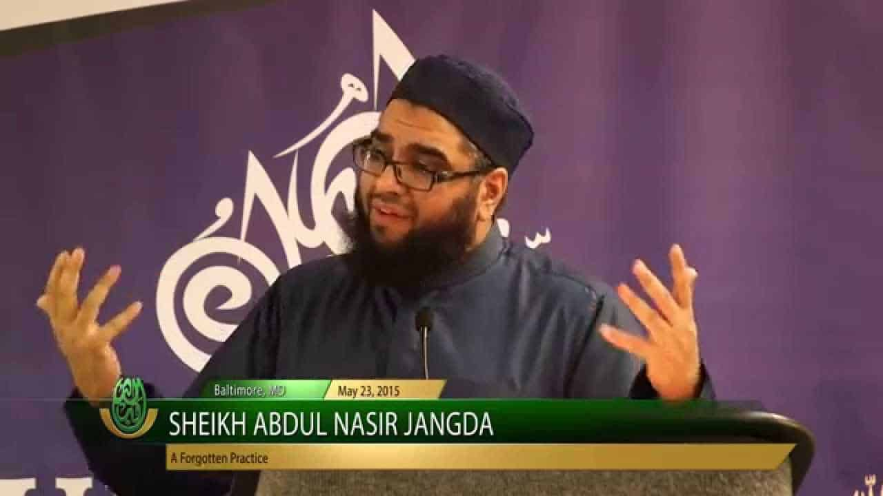 Abdul Nasir Jangda – A Forgotten Practice