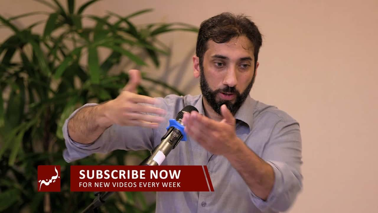 Nouman Ali Khan – Facing Calamity with Iman