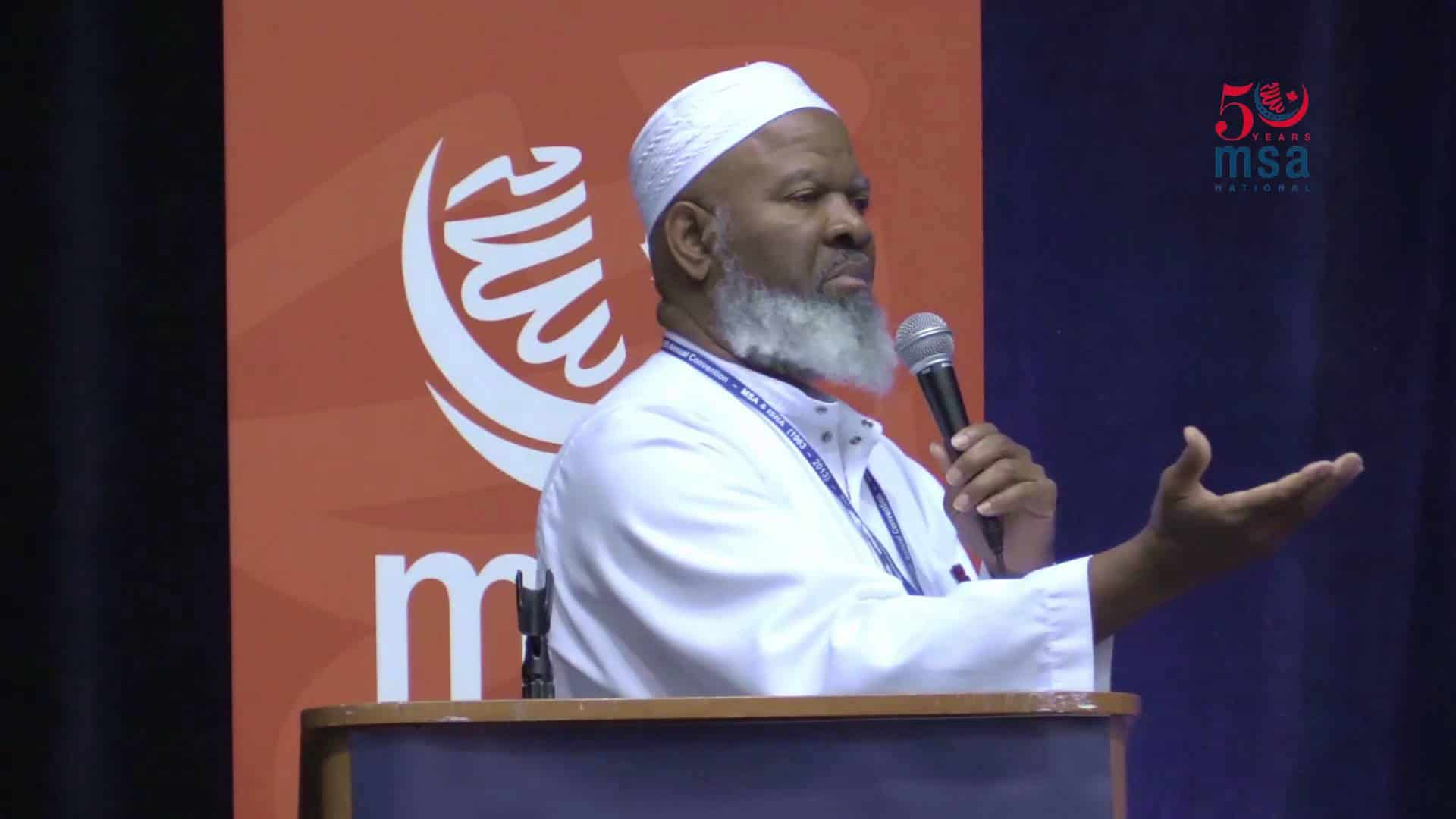 Siraj Wahhaj – Why Are You Just Standing There?