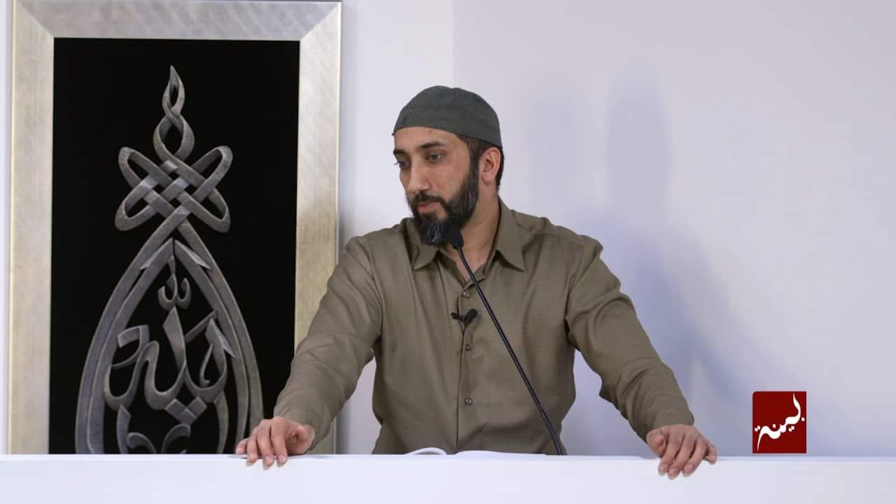 Nouman Ali Khan – Beware a Jealous Heart