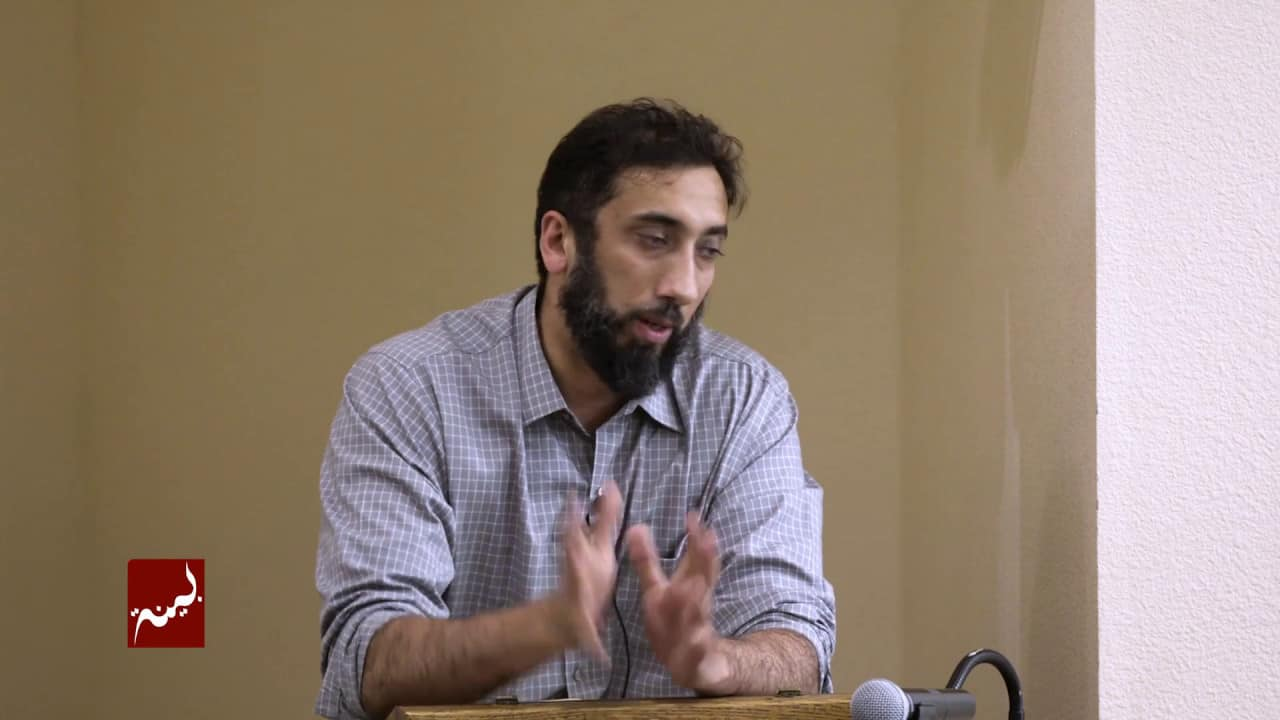 Nouman Ali Khan – The Right Approach to Duaa
