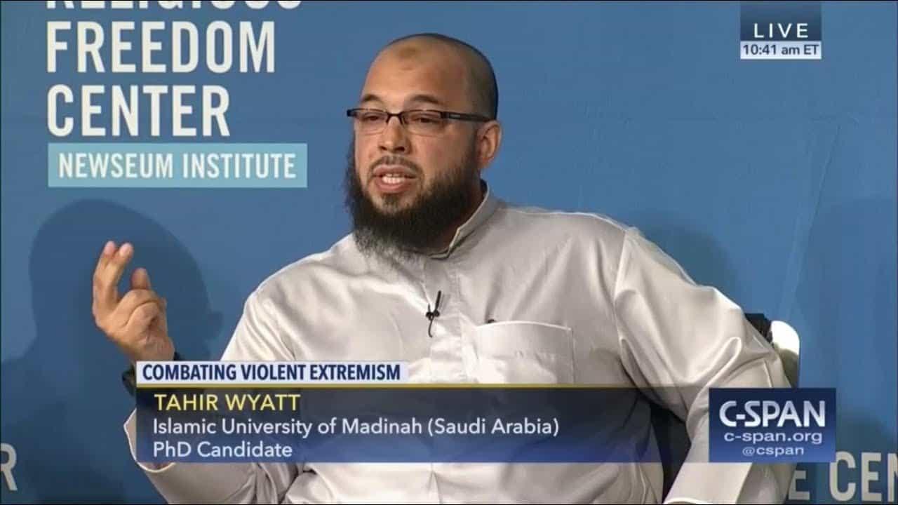 Tahir Wyatt – Confronting Extremism