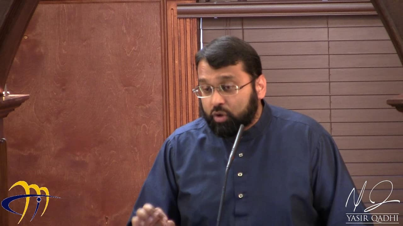 Yasir Qadhi – Giving Thanks to Allah
