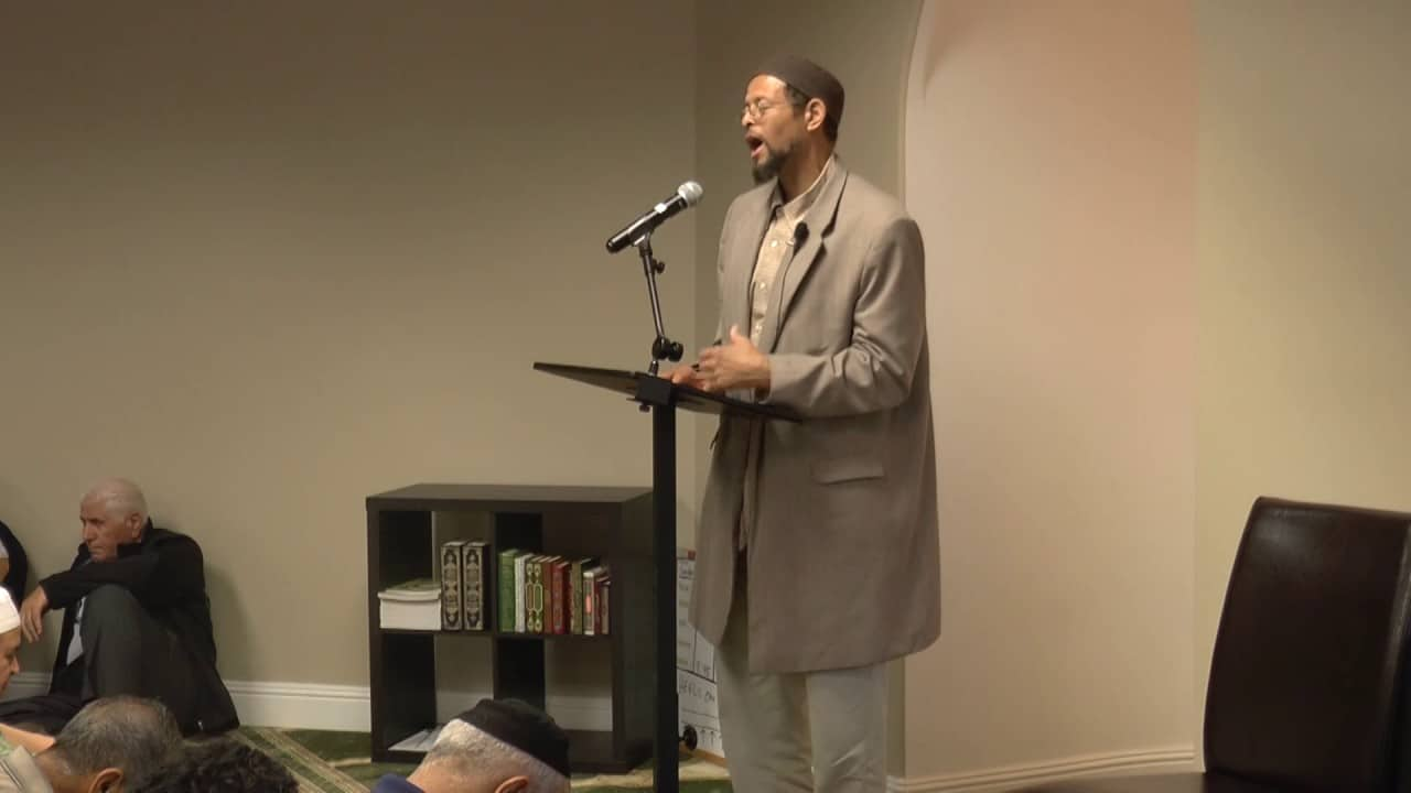 Zaid Shakir – Thinking Well of Others Relieves the Heart
