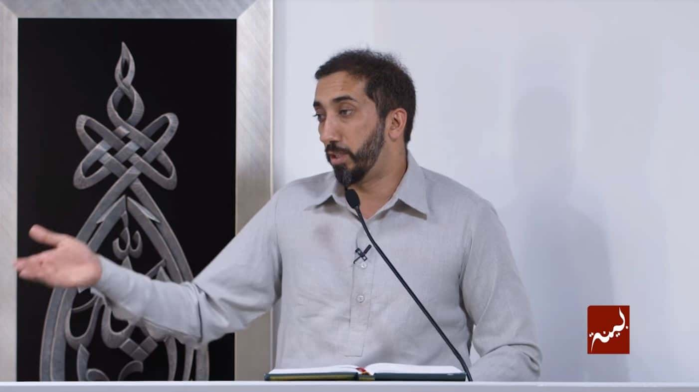 Nouman Ali Khan – On Grief and Patience