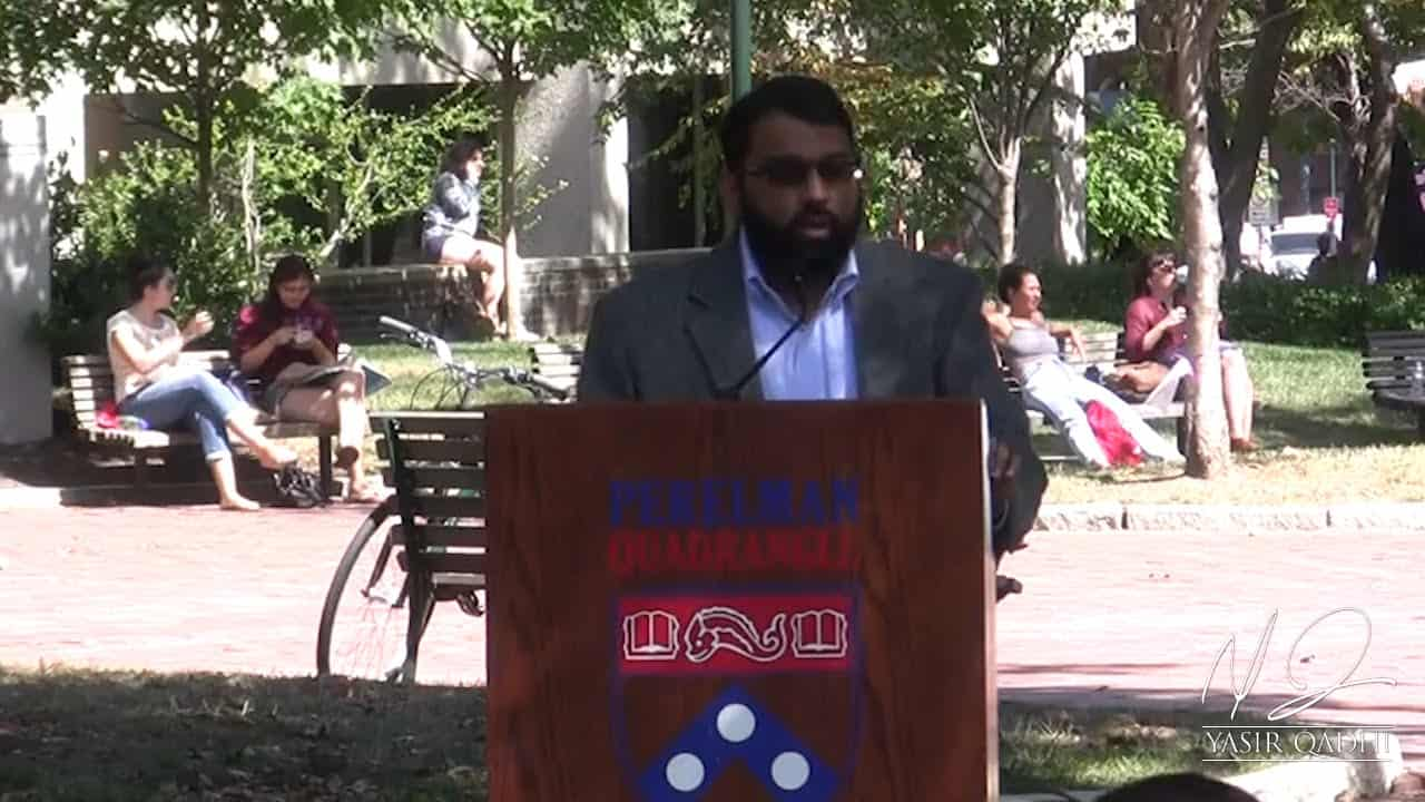 Yasir Qadhi – The Role of a Muslim in a Non-Muslim Society