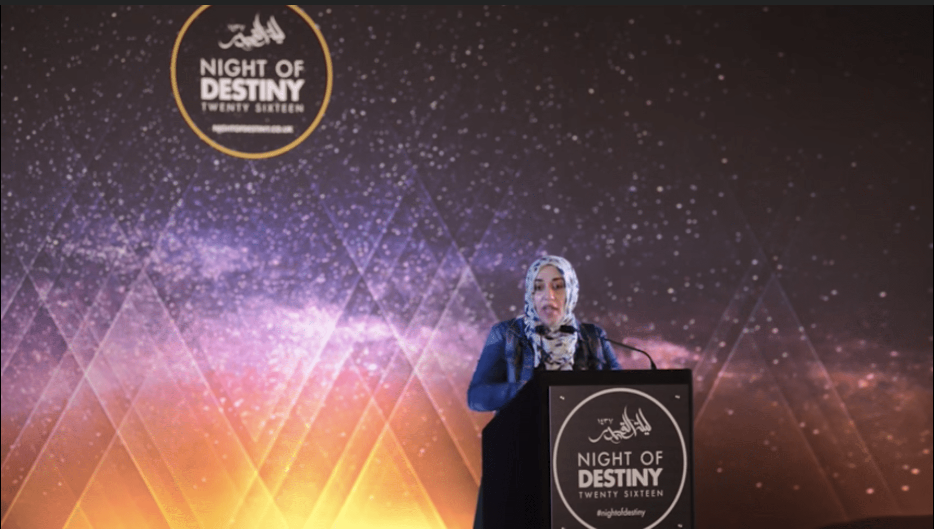 Yasmin Mogahed – Night of Destiny (London)
