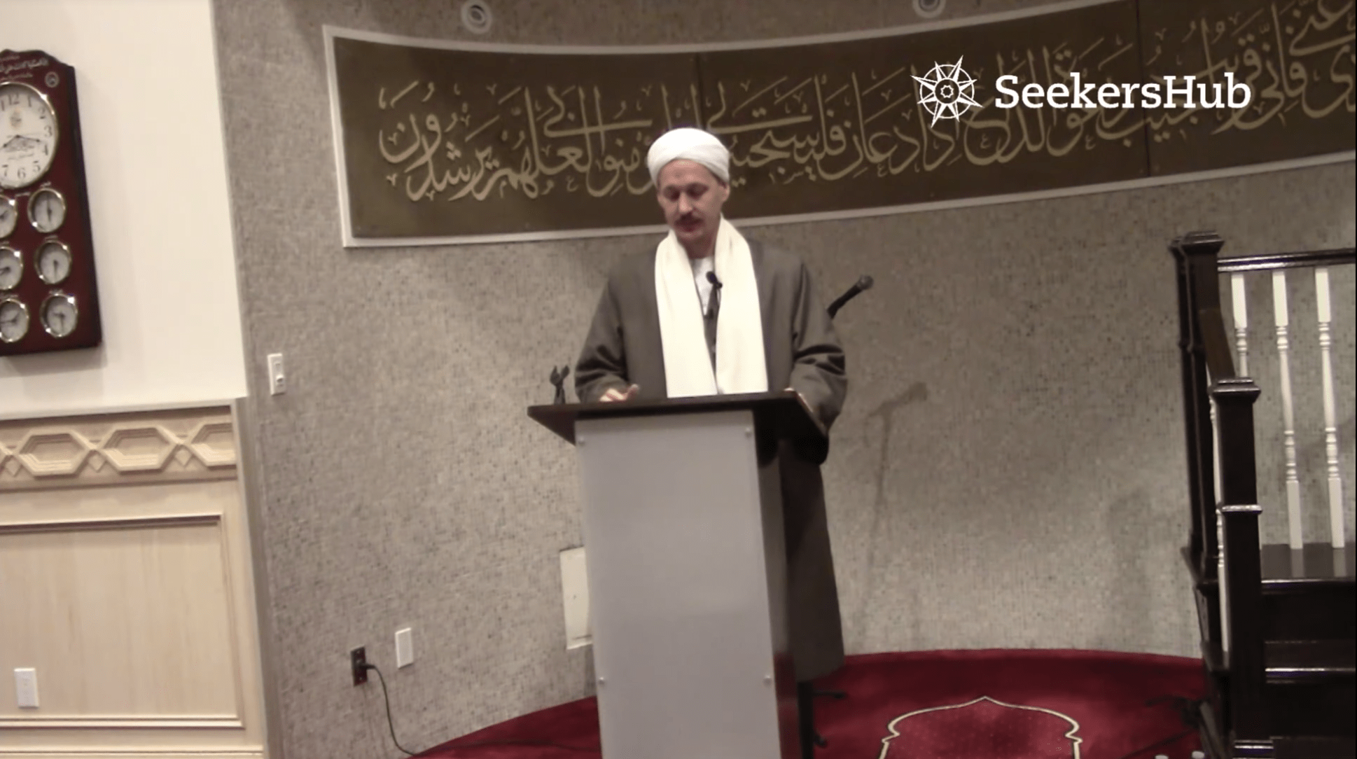 Yahya Rhodus – Seeking Allah's Pleasure in Dealing with Trials