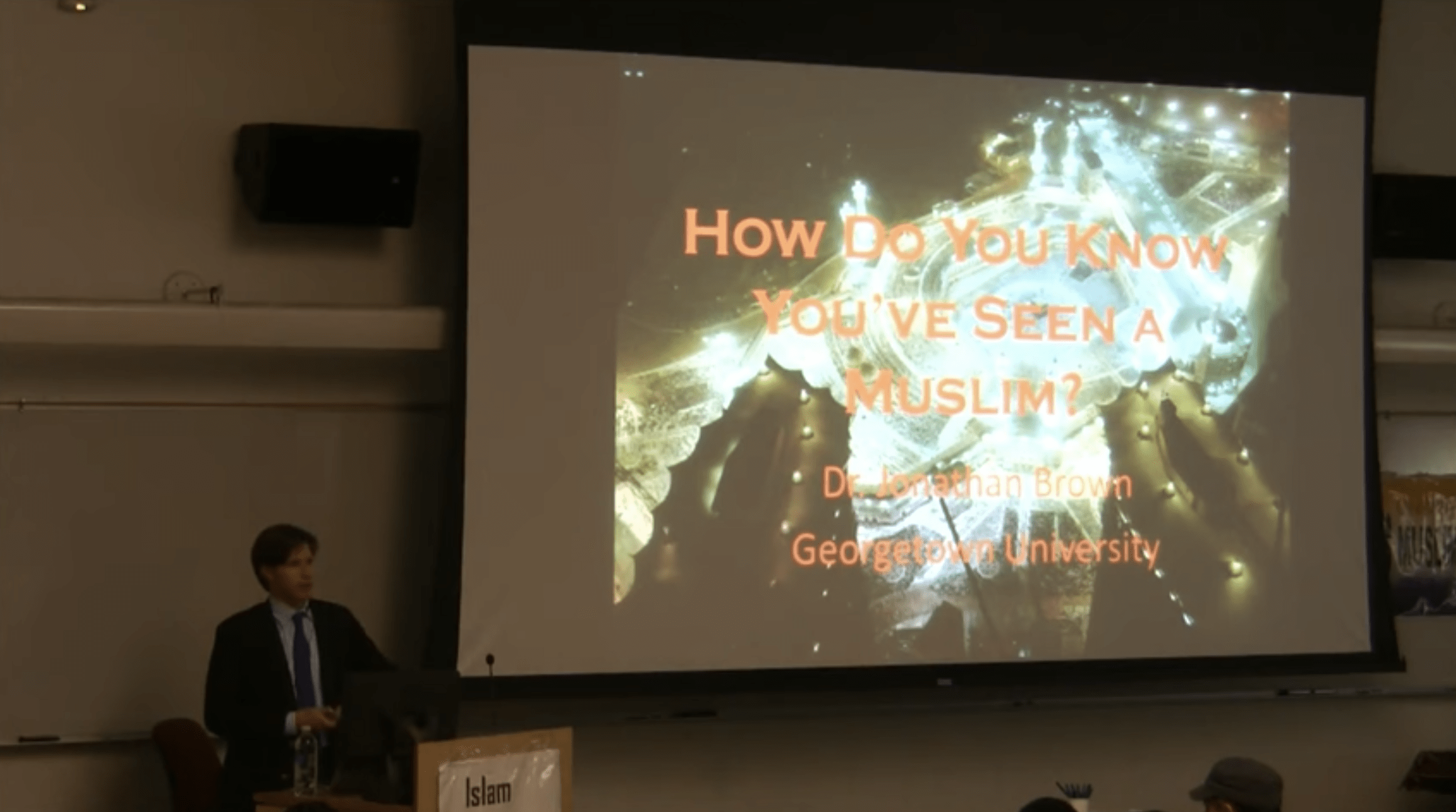 Jonathan Brown – Cultural & Artistic Diversity in the Muslim World