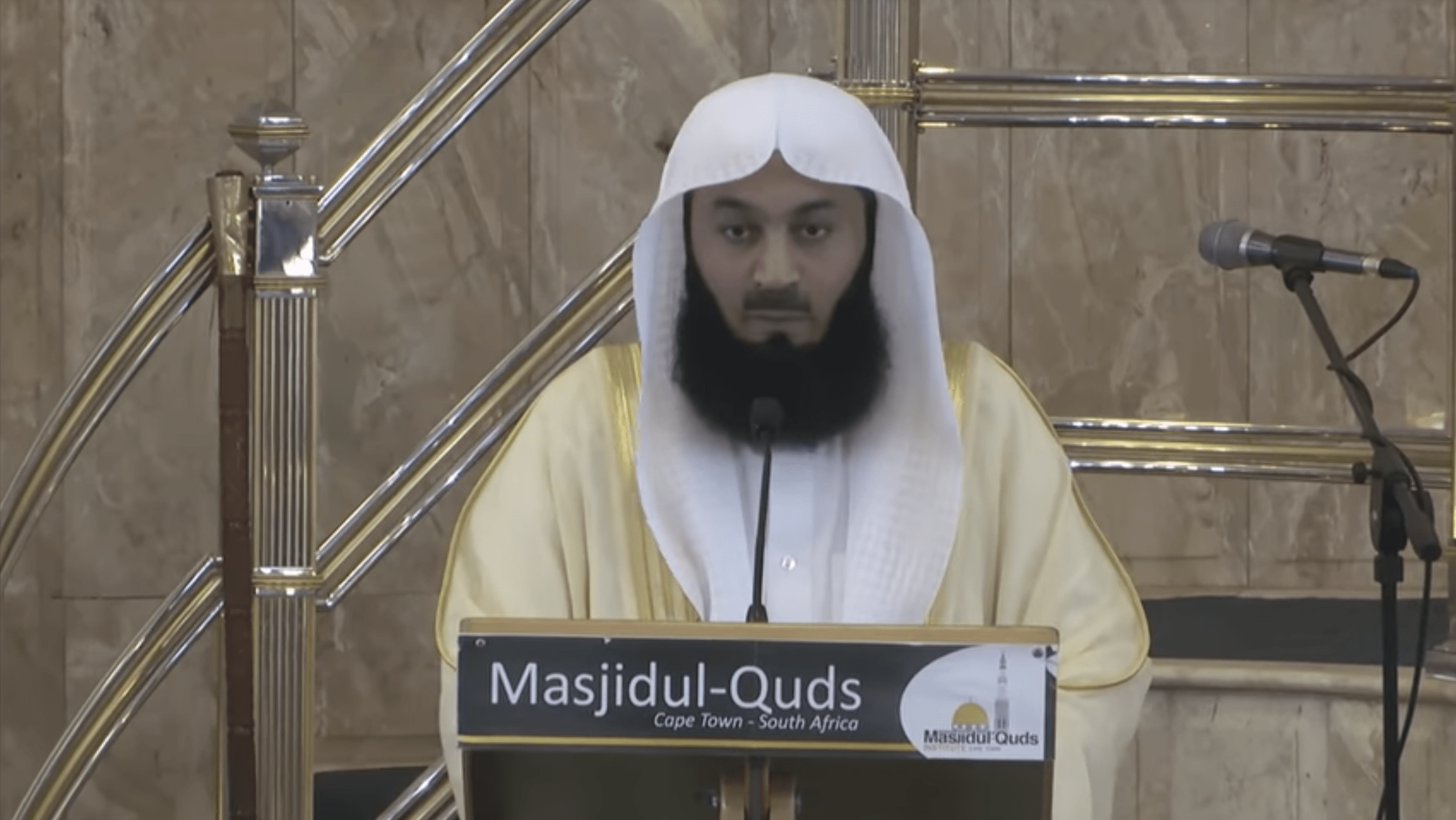 Ismail ibn Musa Menk – Natural Disasters: The Islamic Response