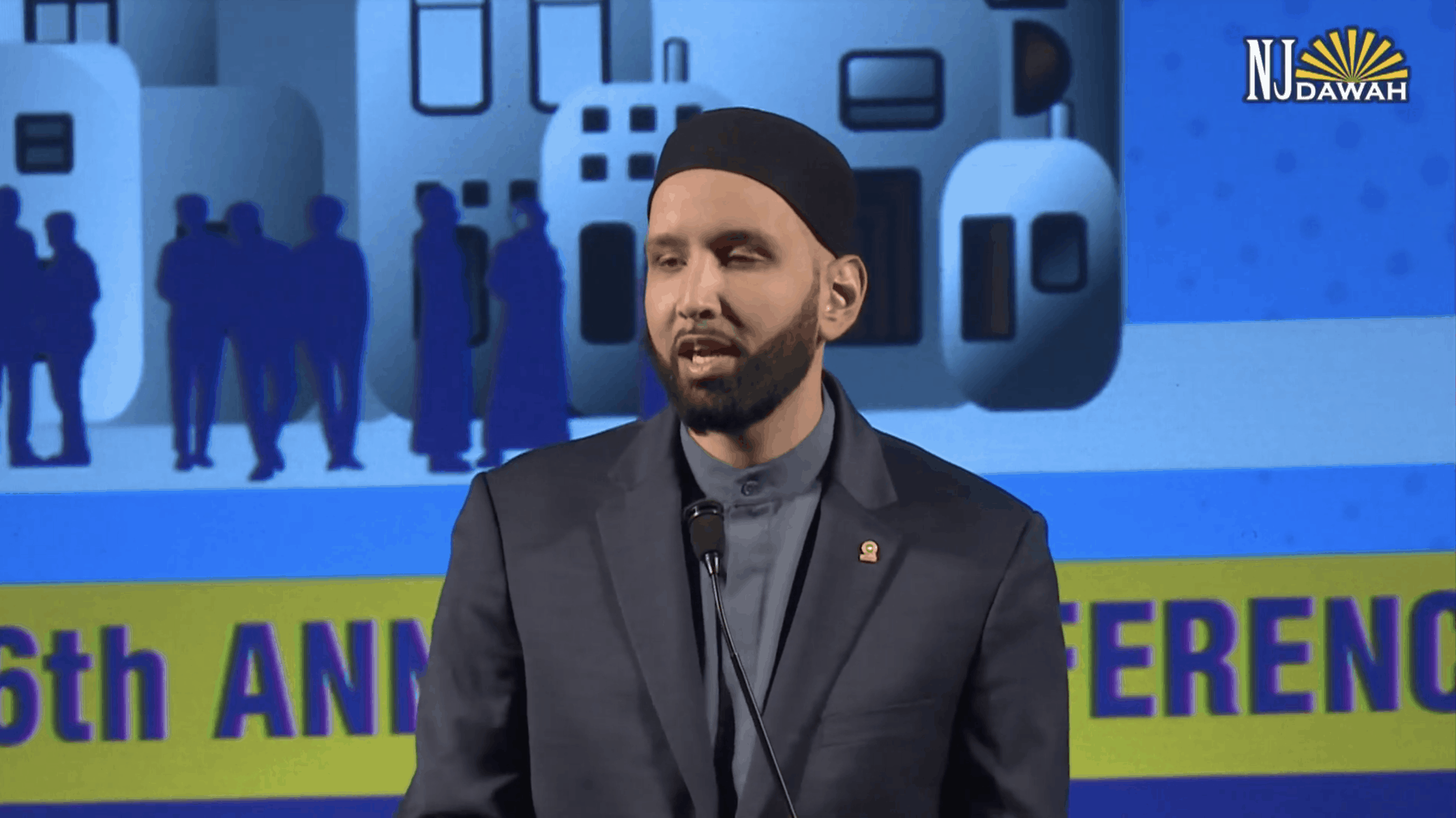 Omar Suleiman – Compassionate Orthodoxy Finding the Middle Path