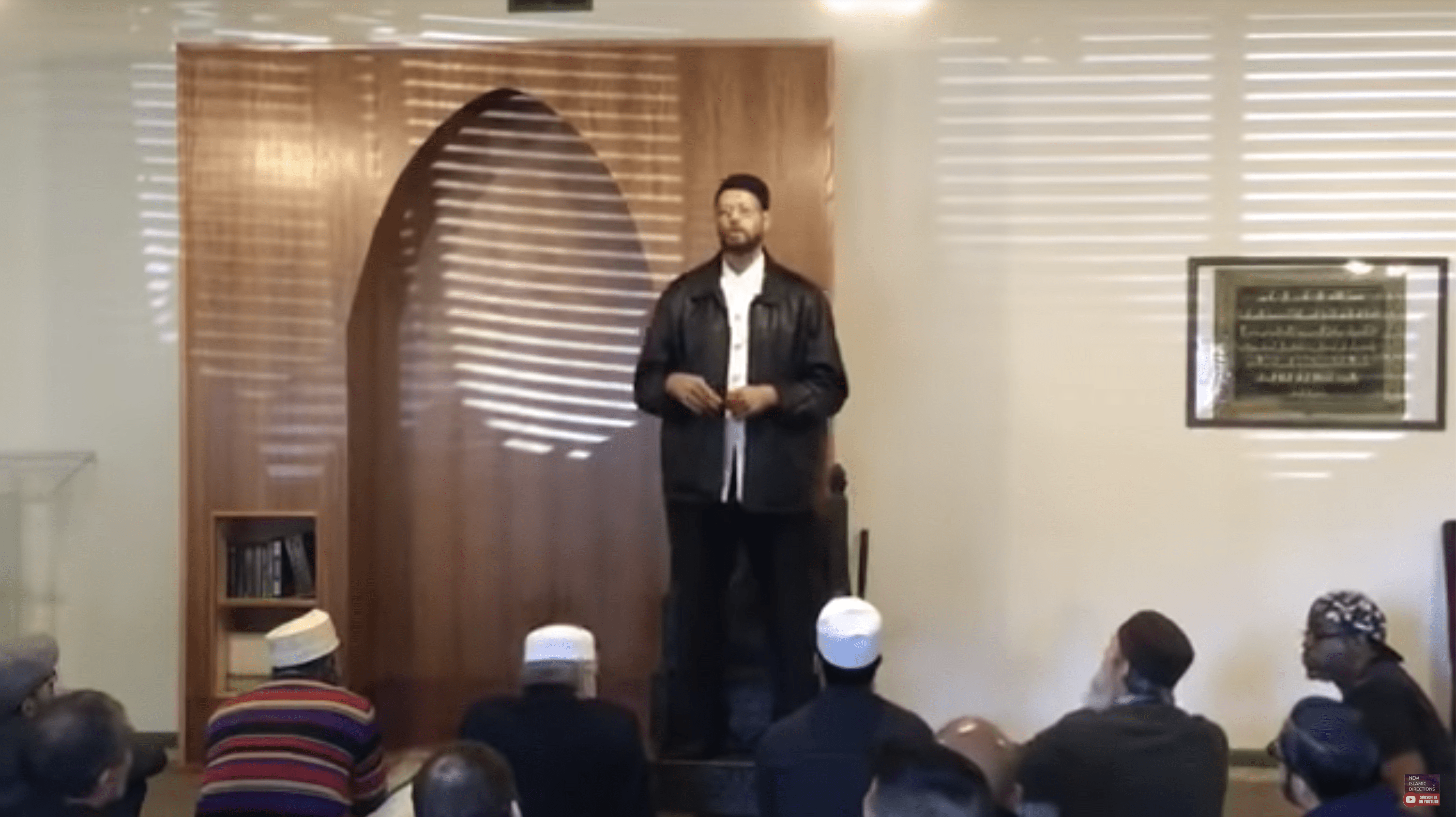 Zaid Shakir – Allah is The Light of The Heavens and Earth