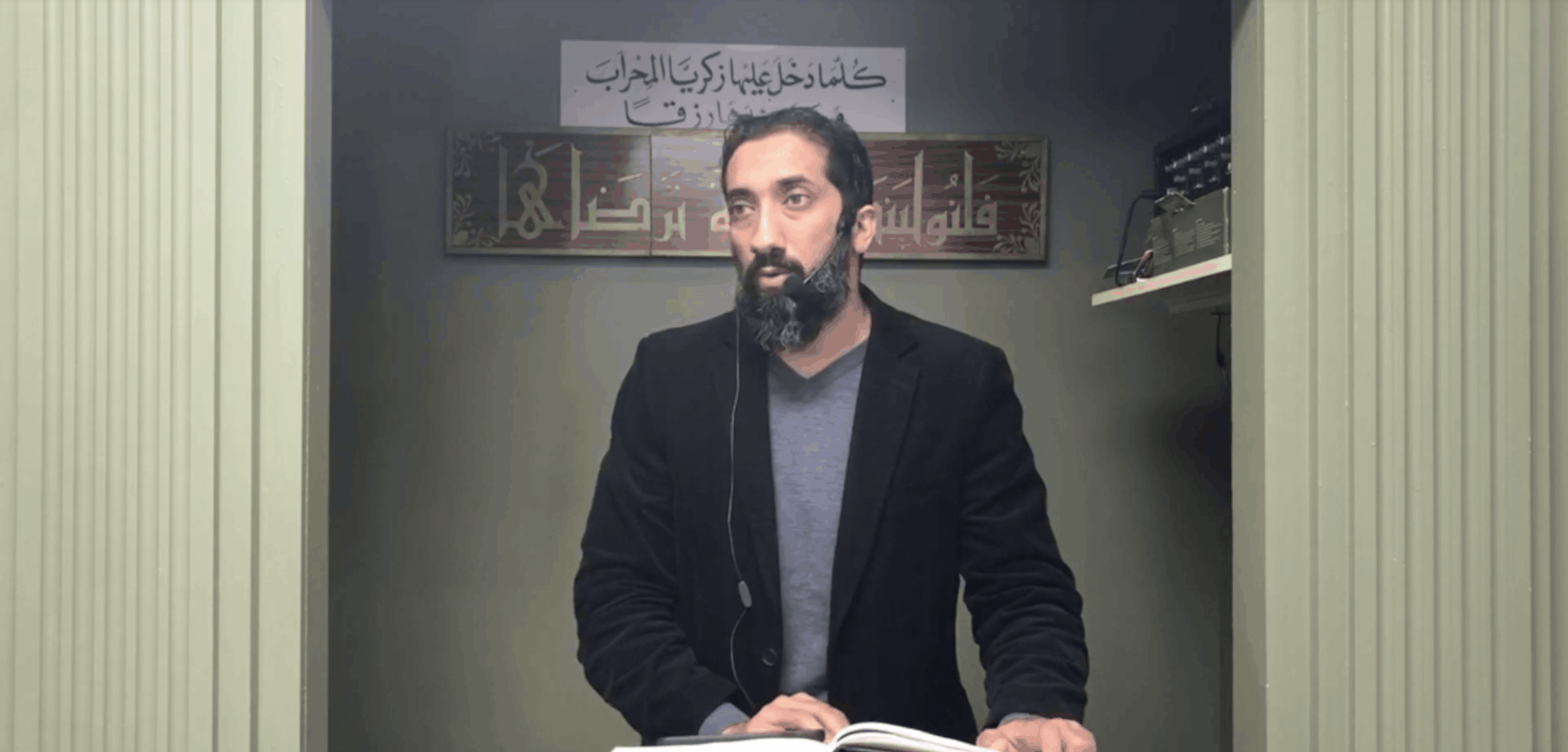 Nouman Ali Khan – How the Surah on the Hypocrites was revealed