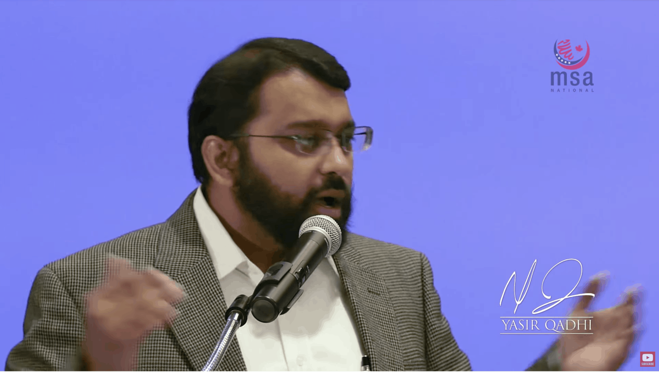 Yasir Qadhi – Our Time Our Challenges: Ultra Conservative Vs. Ultra Liberalism