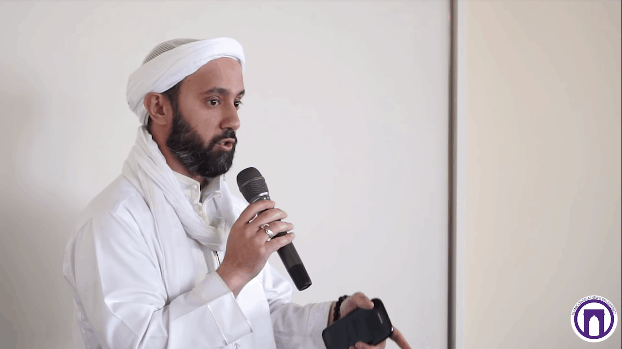Imam Khalid Latif – Real Men Don't Hit Women: Our Role in Stopping Domestic Violence