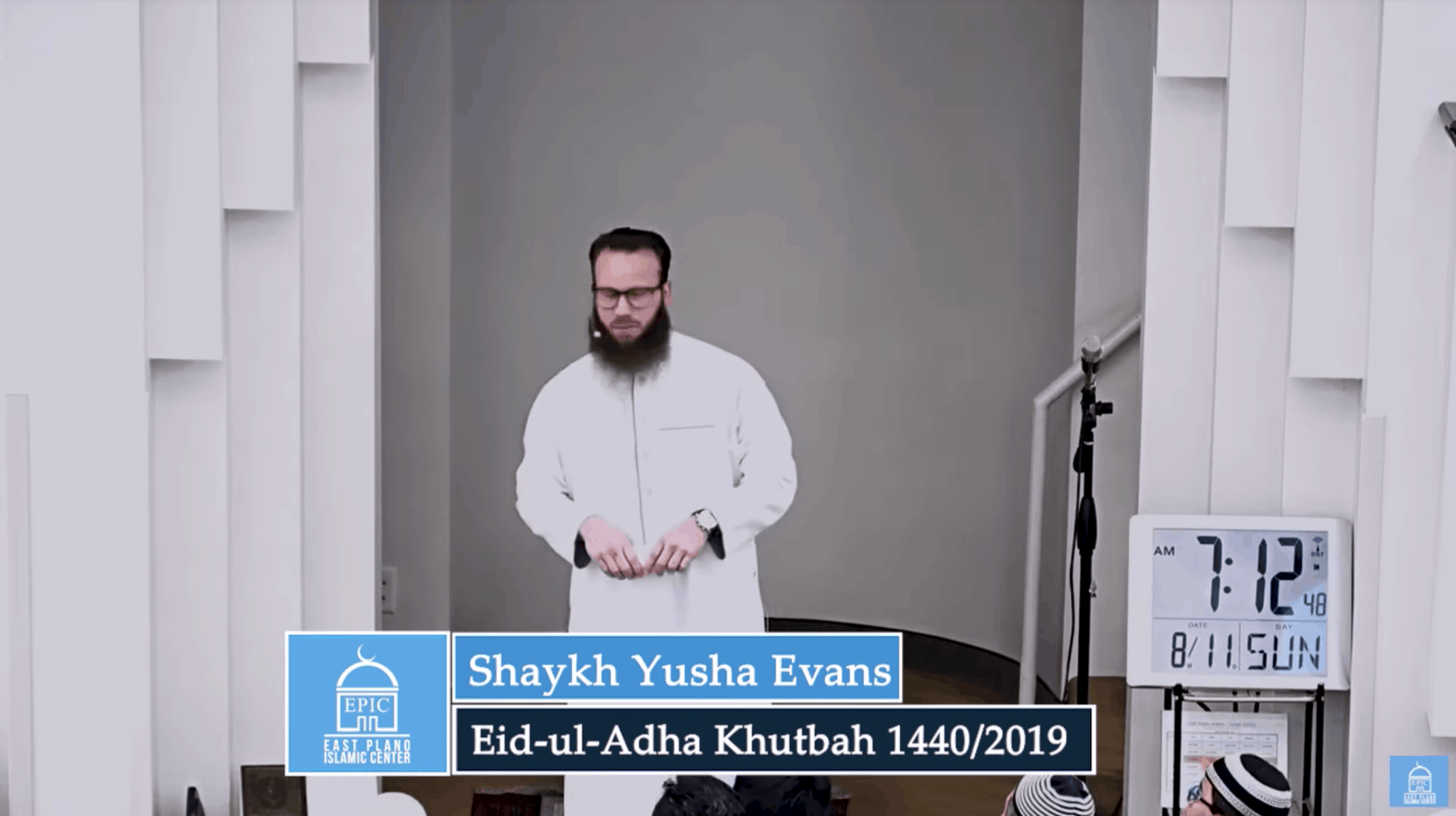 Yusha Evans – Following the Commandments of Allah