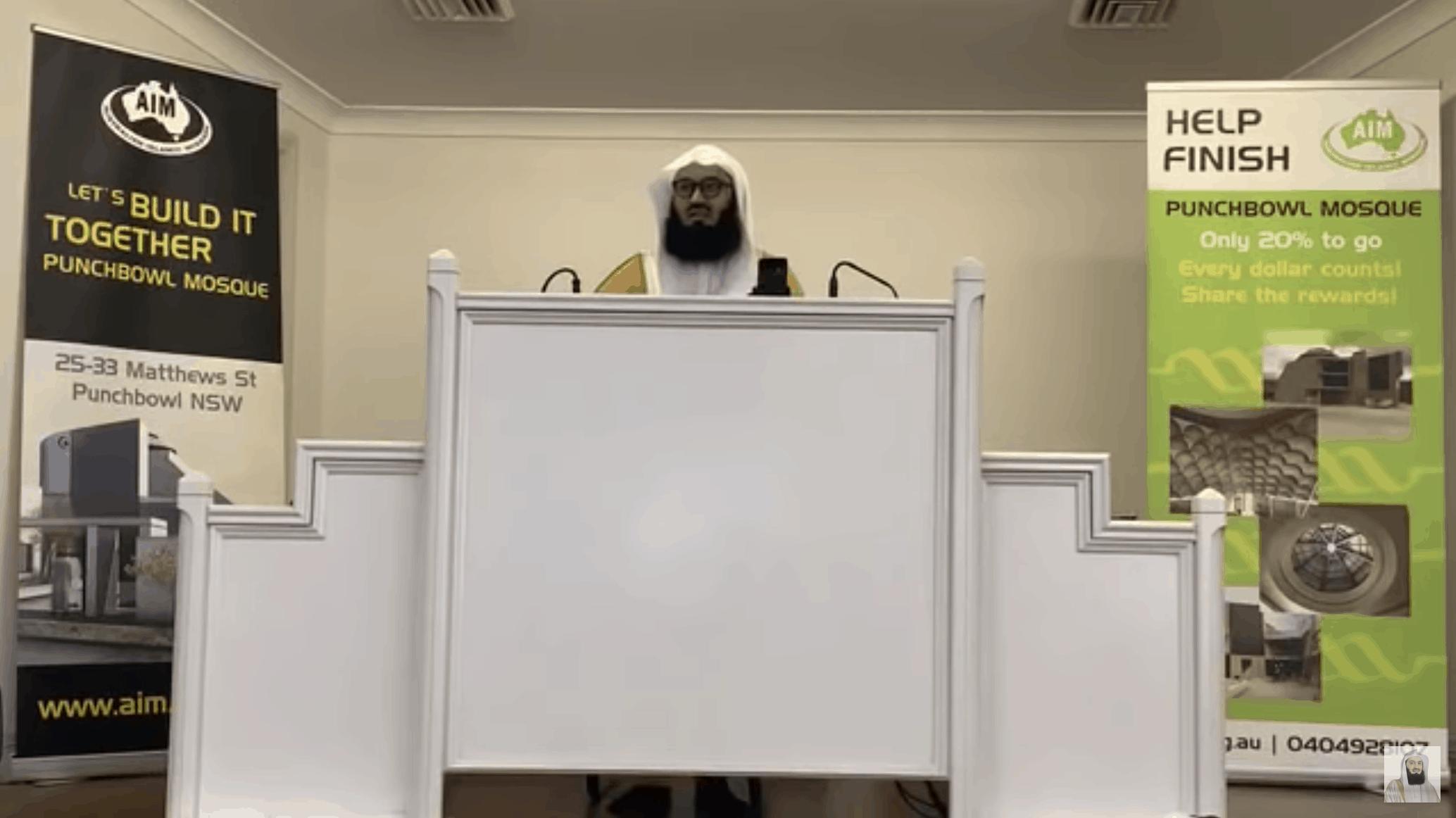 Ismail ibn Musa Menk – Coronavirus