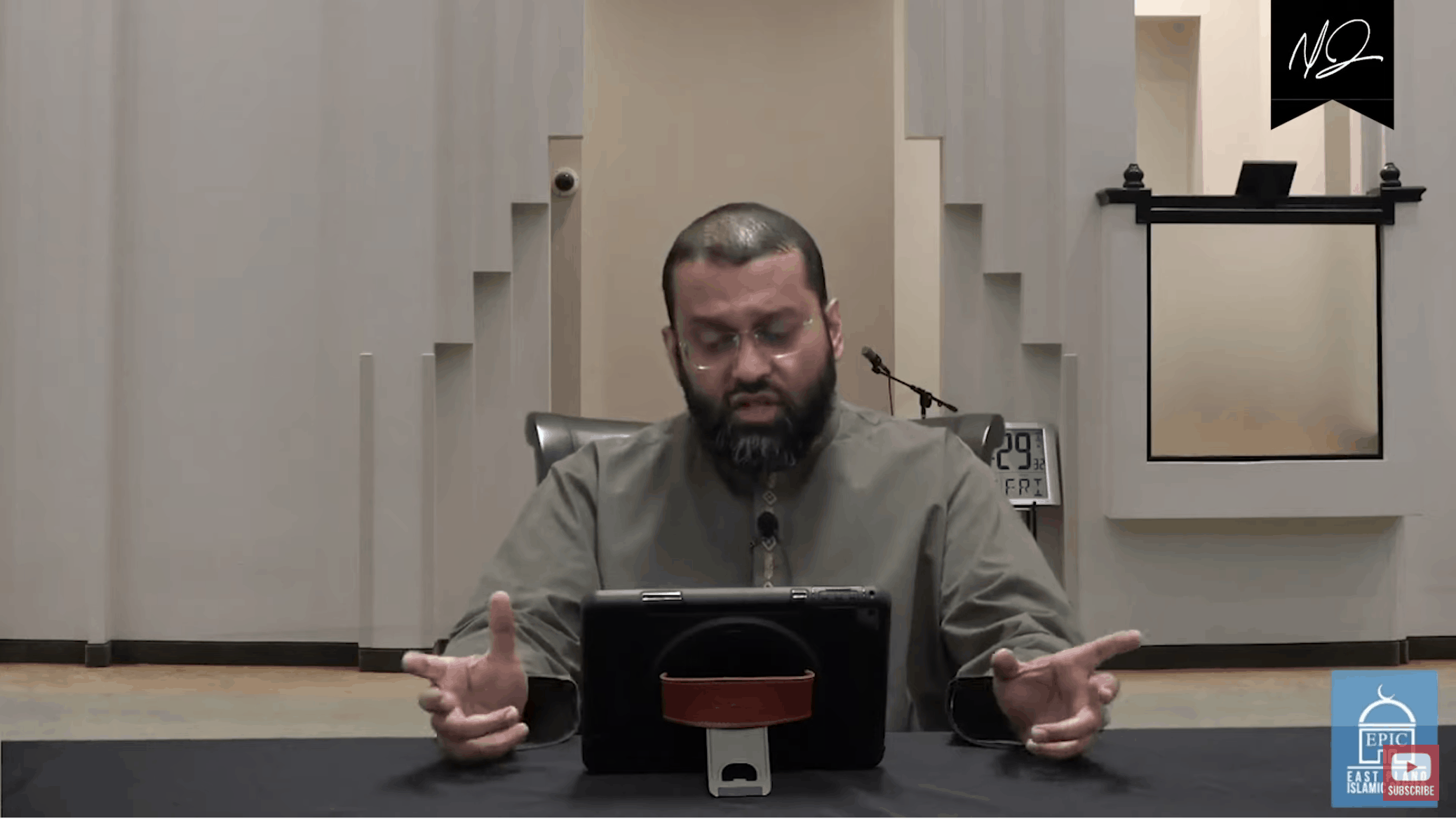 Yasir Qadhi – Spiritual Advice In Light of COVID-19 Shutdown